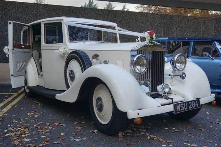Vintage Rolls Royce Wedding car South Yorkshire